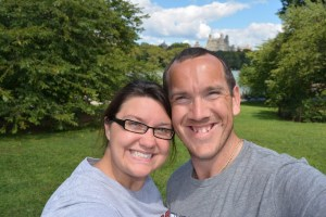 """""""A Brit & A Southerner,"""" Chris & Heather enjoying Central Park, NYC"""