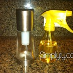 DIY Cooking Spray