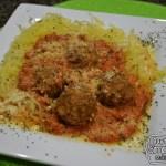 Spaghetti Squash & Chicken Meatballs