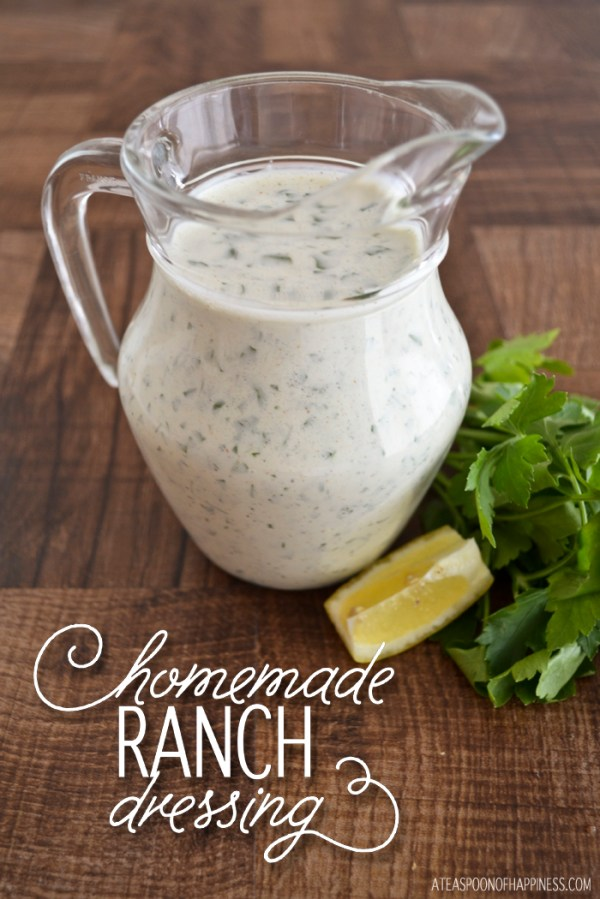 Homemade Ranch Dressing Simply Whisked