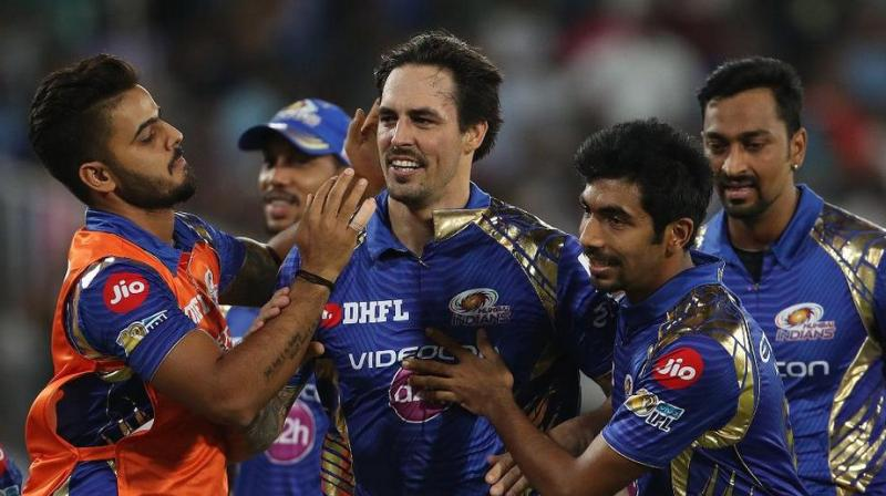 Live| RPS vs MI: Mitchell Johnson holds his nerve as MI win IPL 2017 by 1 run