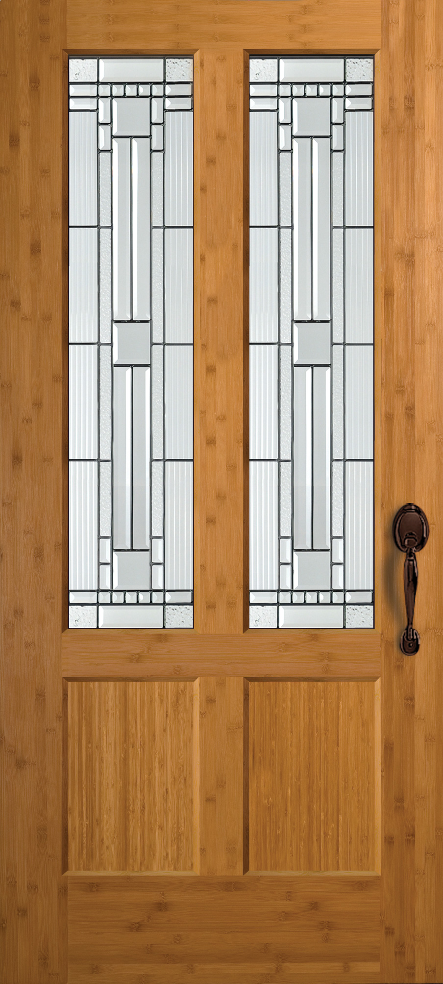 French Doors Custom Interior