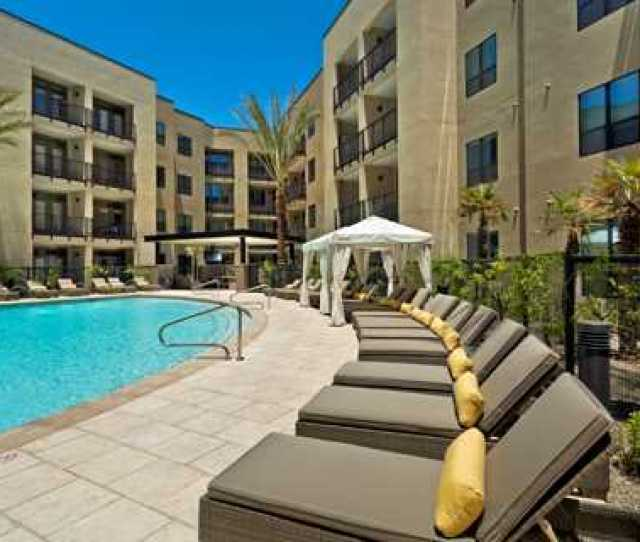 Apartments In Arcadia Az Citrine Resort Style Heated Pool And Spa
