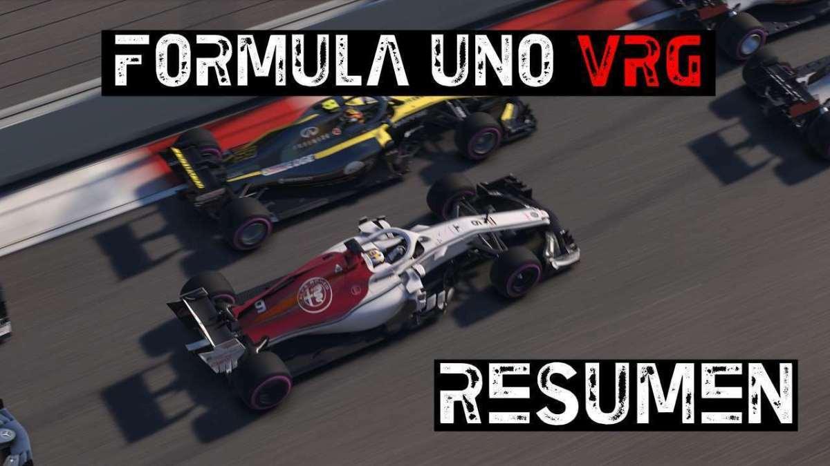 Así fue la primera temporada de Formula 1 2018 PS4