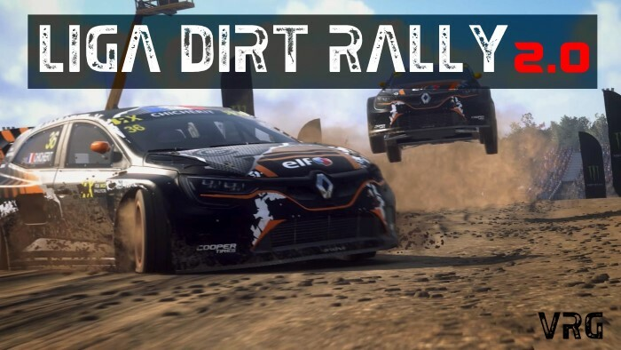 Liga dirt rally 2.0 para ps4