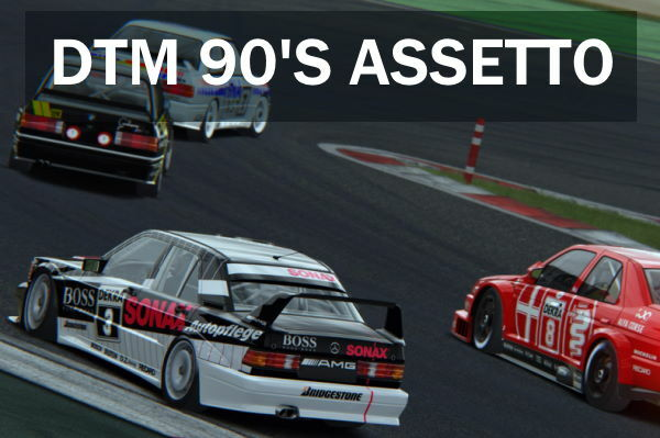 campeonatos assetto corsa ps4 dtm 90's
