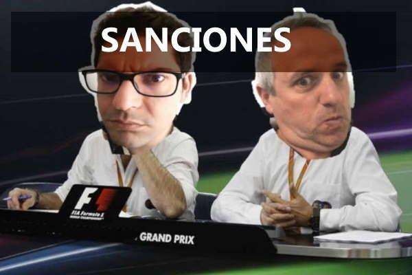 sanciones de los campeonatos sim racing girona vrg
