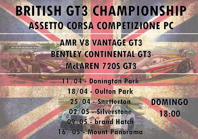 campeonato assetto competizione