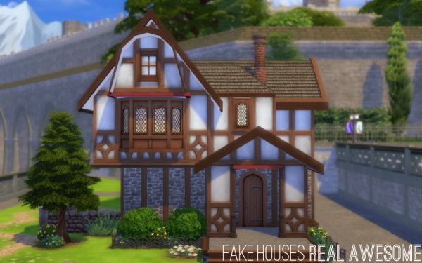 Interview Fake Houses Real Awesome Maison Sims 3 Sims 4