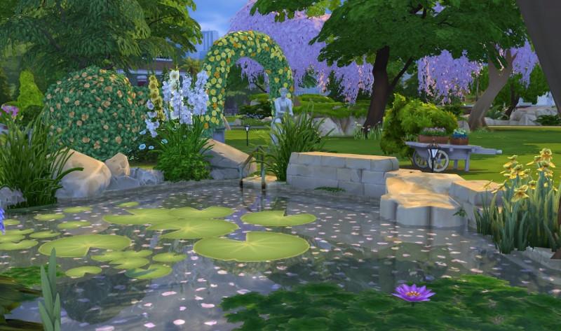 Sims 4 Parc Camelia Construction