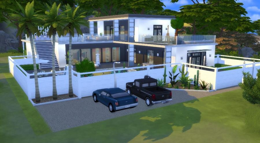 Sims 4 T L Chargement Sans Cc No Cc Download House Maison Residential Lot Terrain R Sidentiel
