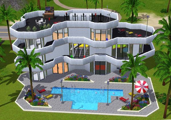 Building Garden Sims 3