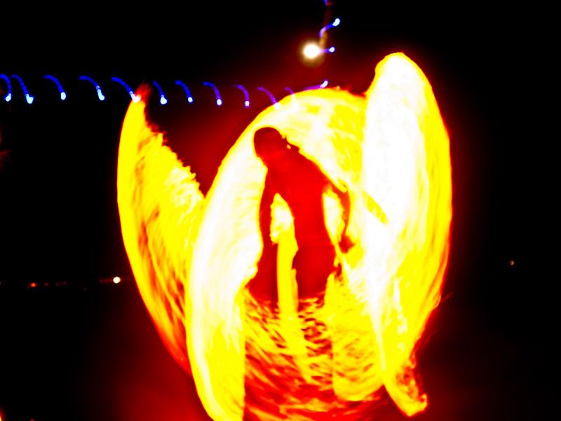 Koh Tao – Feuertänzer und ein Schnorchelausflug