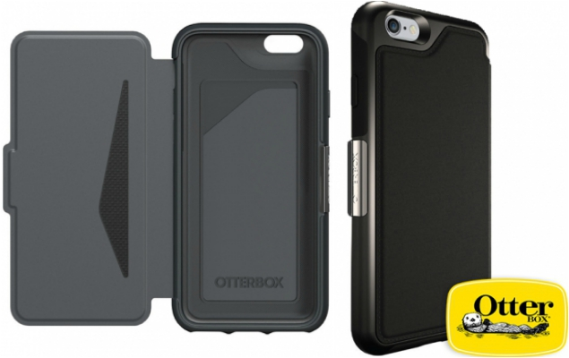 Otterbox Strada Folio Case iPhone 6 Zwart