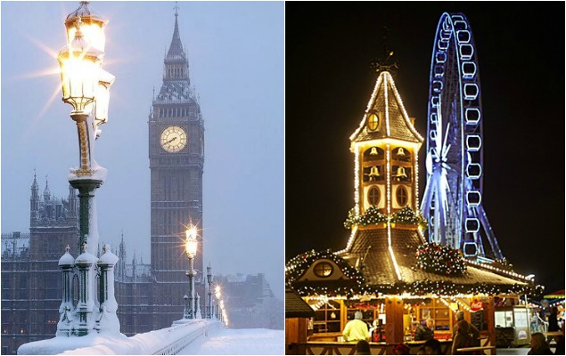 Bucketlist #15 Kerstmarkt London