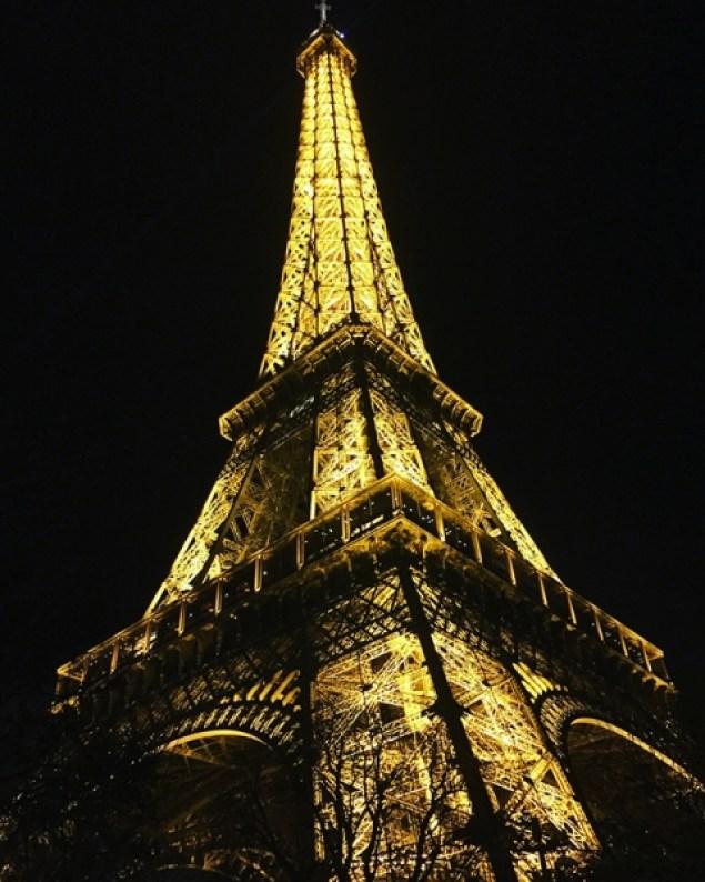 Eiffeltoren donker