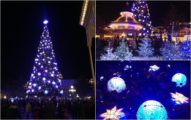 Kerstboom Disneyland Parijs
