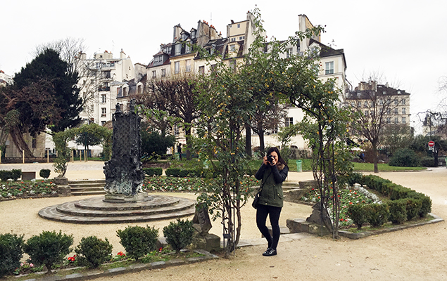 Square Viviani Parijs