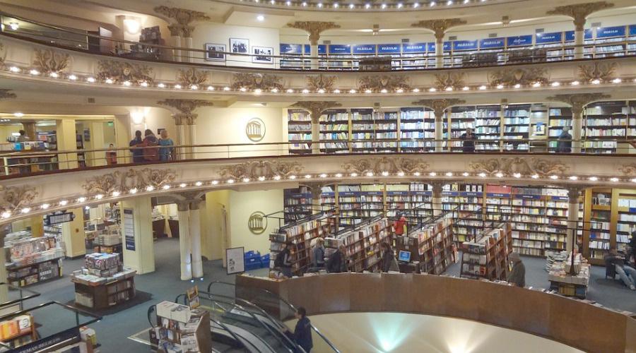mooiste boekenwinkels ter wereld