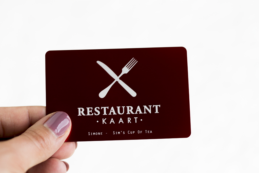 Restaurantkaart