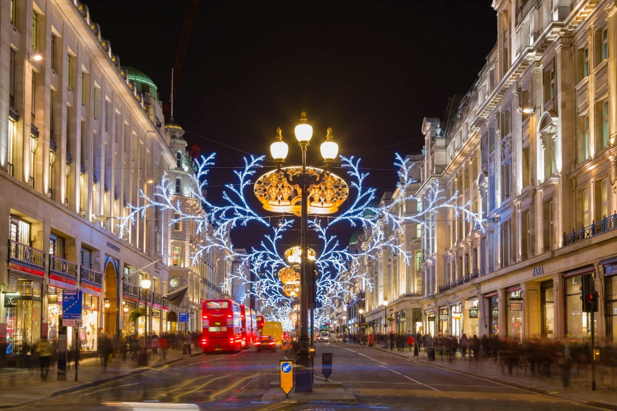 Kerst in London