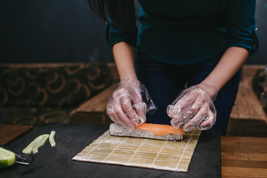 gouden tips voor sushi at home