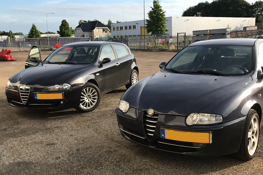 `nieuwe auto