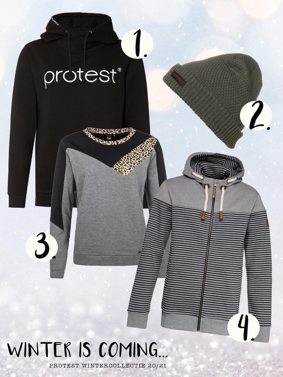 wintercollectie van Protest