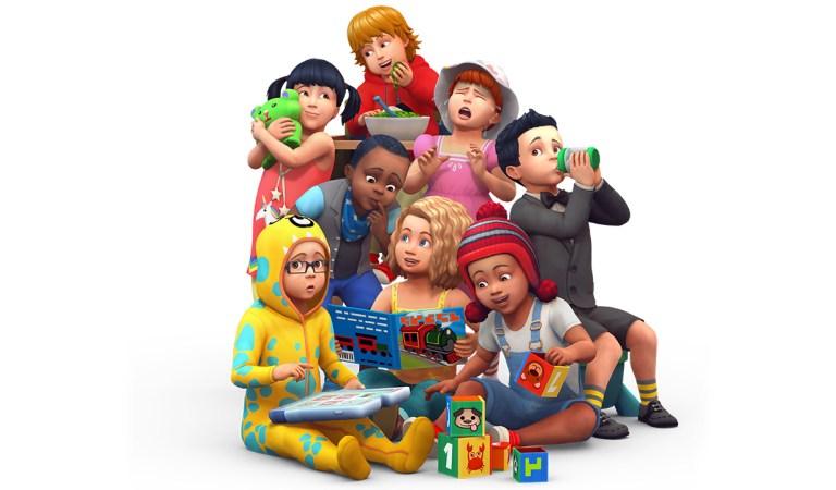 The Sims 4'e Toddler Güncellemesi Geldi!