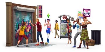 Sims 4 City Living