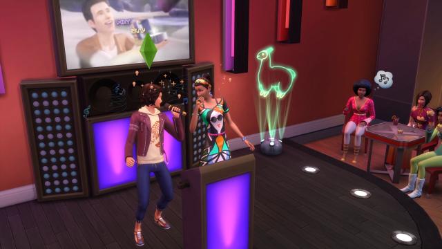 Sims 4 City Living Karaoke