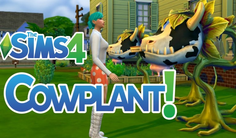 The Sims 4 İnek Çiçeği/Cowplant Rehberi