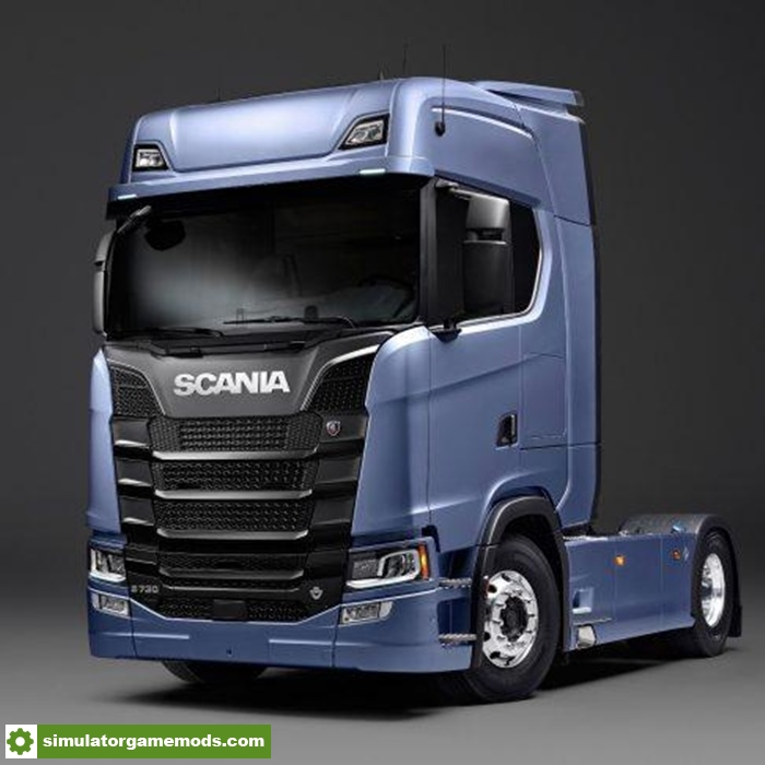 ETS2 More Power For Scania Next Generation V10 130X