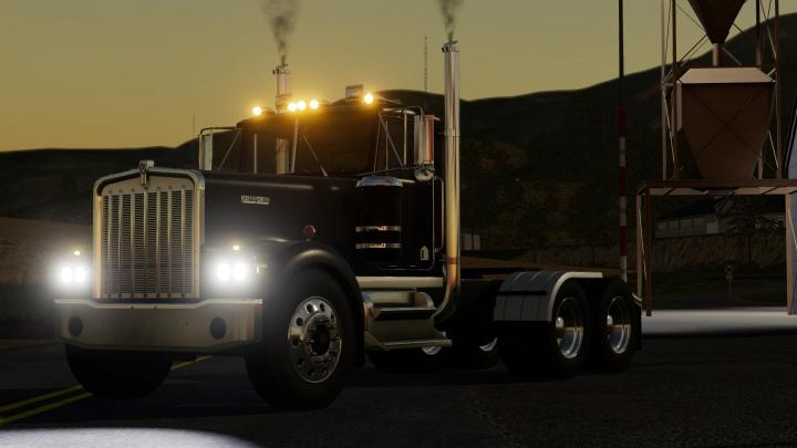 Fs19 Kenworth W900a 1776 Truck V1 Simulator Games Mods