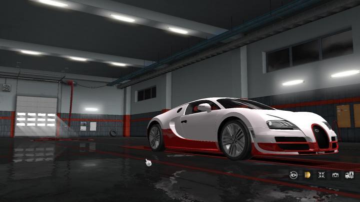 Ets2 Sportcar Bugatti Veyron V2 1 33 X Simulator