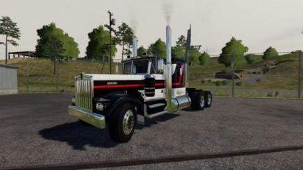 Fs19 Kenworth W900a V1 8 Simulator Games Mods Download