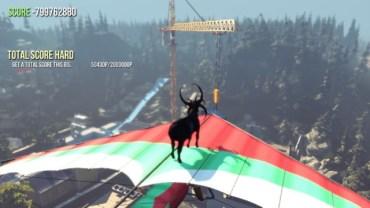 Sandbox game con protagonista una capra