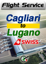 Flight Service LX883 - Cagliari to Lugano