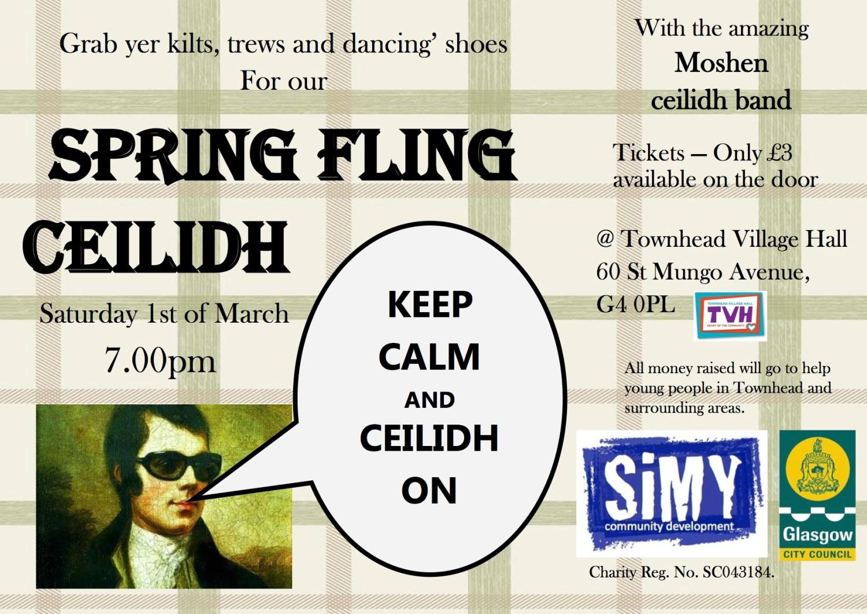 Spring Fling Ceilidh