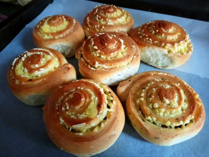 Vegan Cheese buns Sin Carne
