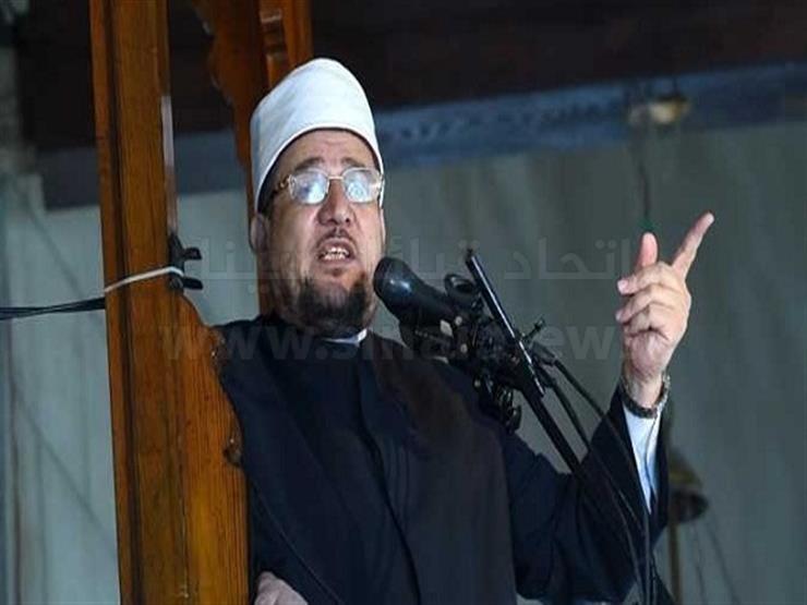 وزير الأوقاف يلقي خطبة الجمعة من مسجد الروضة بشمال سيناء