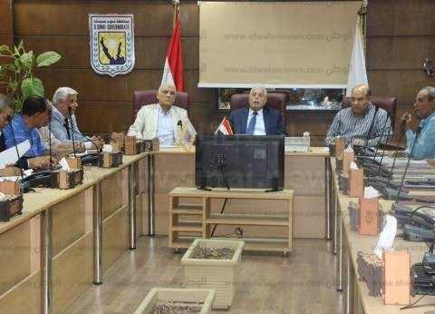 محافظ جنوب سيناء يلتقي رئيس الهيئة العامة للطرق والكباري
