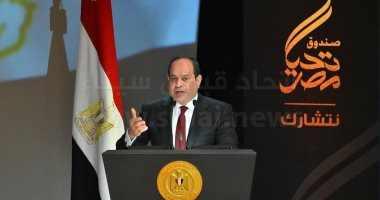 """الرئيس السيسي: التاريخ يؤكد أن ترابطنا مع السودان """"أزلي"""" لا انفصام فيه"""
