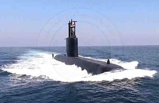 الغواصة (S43) تغادر دولة ألمانيا فى إتجاه جمهورية مصر العربية تمهيداً لإنضمامها للقوات البحرية المصرية