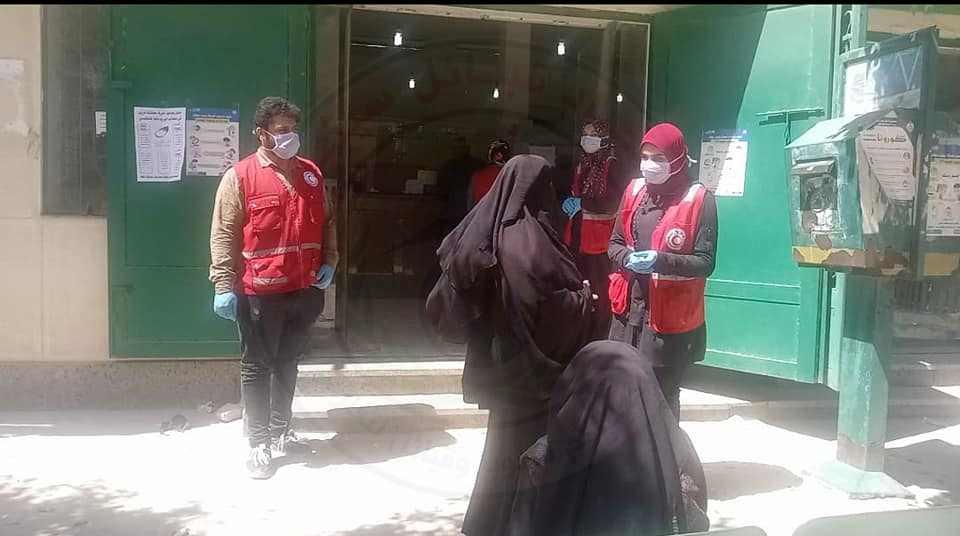 محافظ شمال سيناء عمليات صرف المعاشات3 - وكالة سيناء نيوز