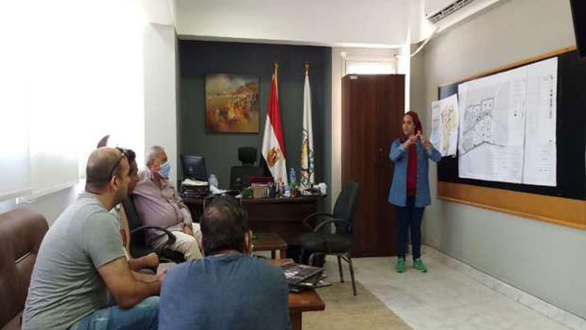 نائب محافظ جنوب سيناء تستعرض مخطط تنمية منطقة الرويسات.