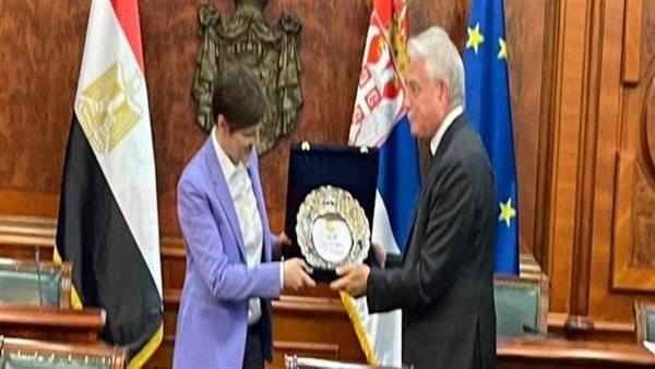 رئيسة وزراء صربيا تستقبل محافظ جنوب سيناء