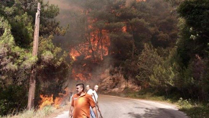 رجال الظل.. الفرق التطوعية من الأهالي تتصدر مشهد إنقاذ اللبنانيين من الحرائق