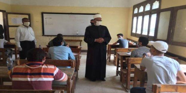 انتظام سير امتحانات الثانوية الأزهرية بجنوب سيناء دون شكاوى