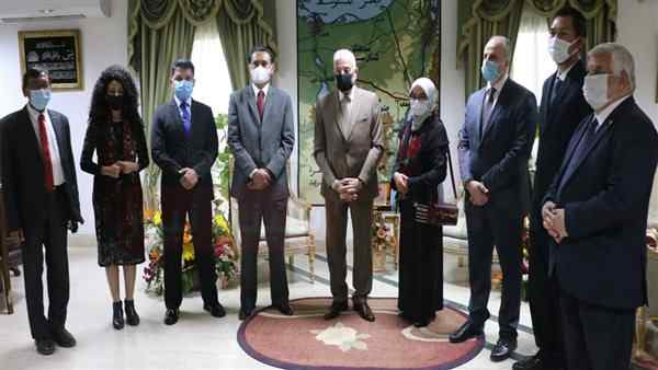 محافظ جنوب سيناء يلتقي السفير الإندونيسي